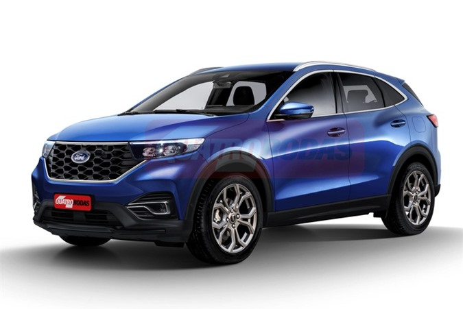 Lộ diện Ford EcoSport 2021 sắp ra mắt